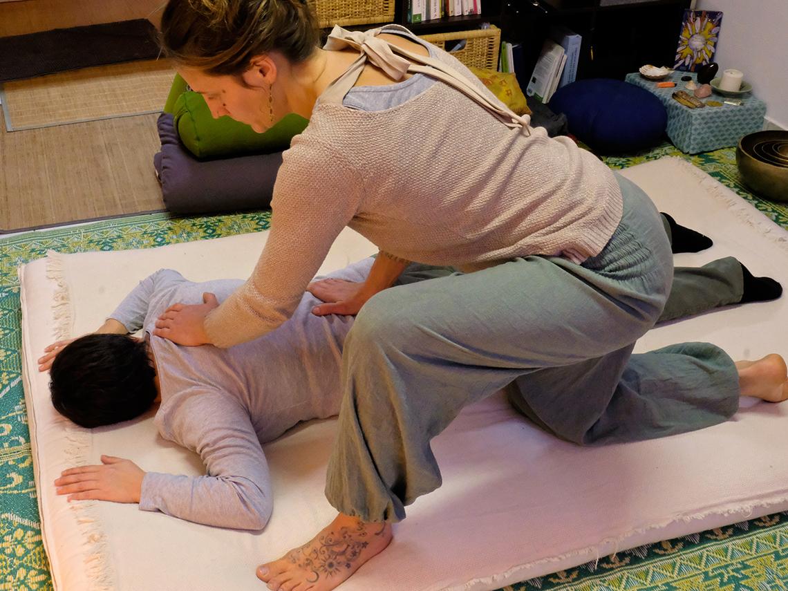 Yoga massage
